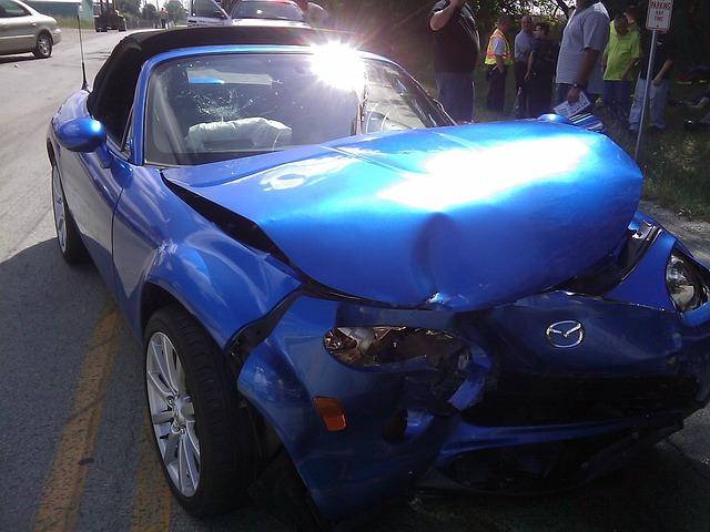 תאונה של רוכב קורקינט הנפגע על ידי רכב